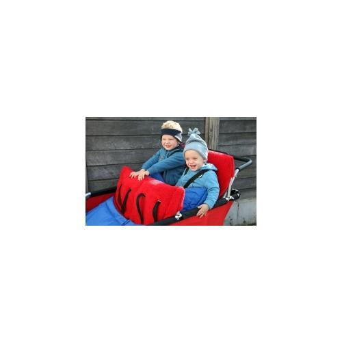 Fußsack für Turtle Kinderbus für 2 Kinder
