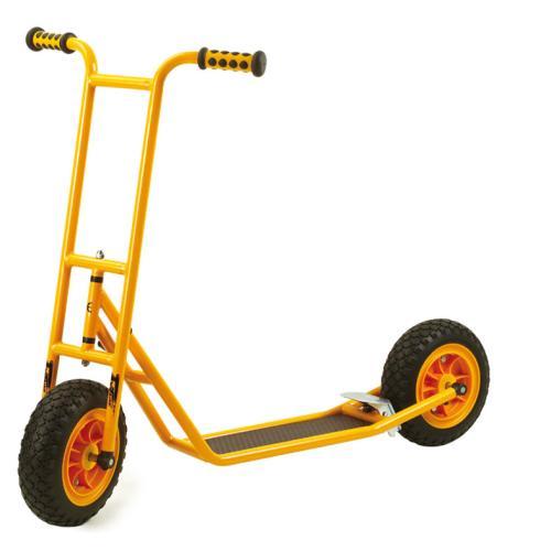 Roller Scooter groß mit Bremse + EVA-Bereifung