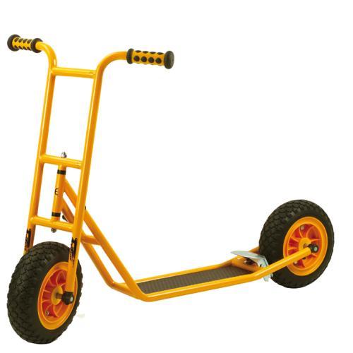 Roller Scooter klein mit Bremse + EVA-Bereifung