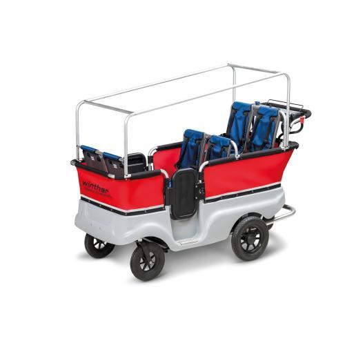 E-Turtle Kinderbus 6-Sitzer