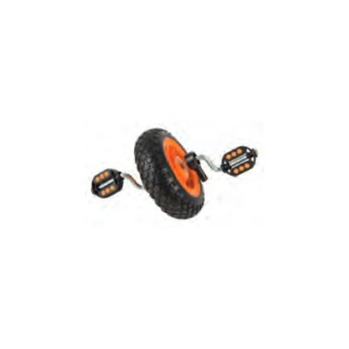 Vorderrad mit Pedale kleines Dreirad 3,00-4 Rad EVA Rad