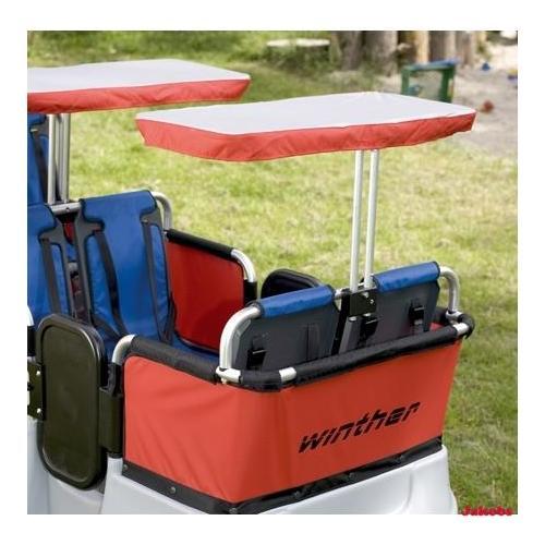 Sonnenschutz für 2 Sitzplätze für 8900801+8900802