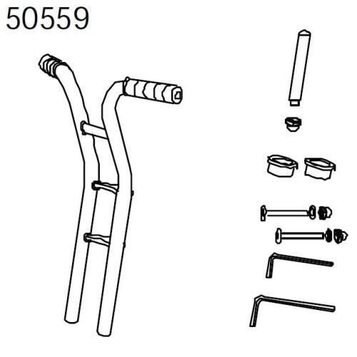 Vorderadgabel für Hochrad 481Chopper489