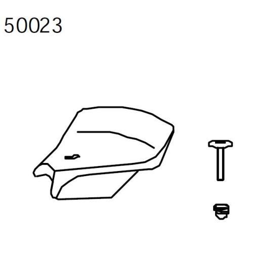 Sattel kompl. breit für Mini-Viking