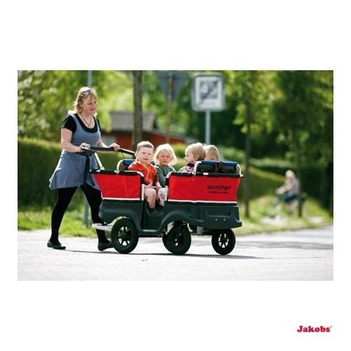 Turtle Kinderbus Basic für 4 Kinder