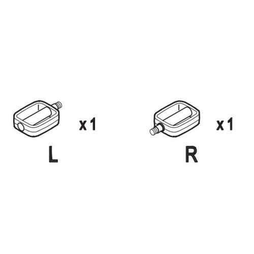 Pedale groß L&R komplett